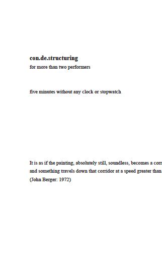 con.de.structuring