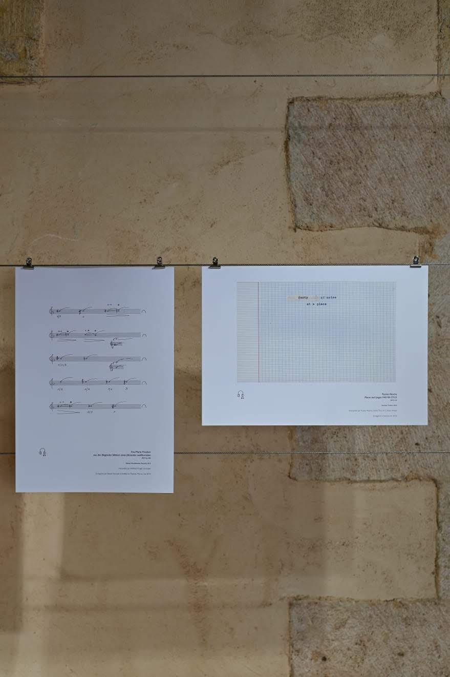 THE DIAGONAL OF SILENCE (2019), cip m (centre international de poesie Marseille), France