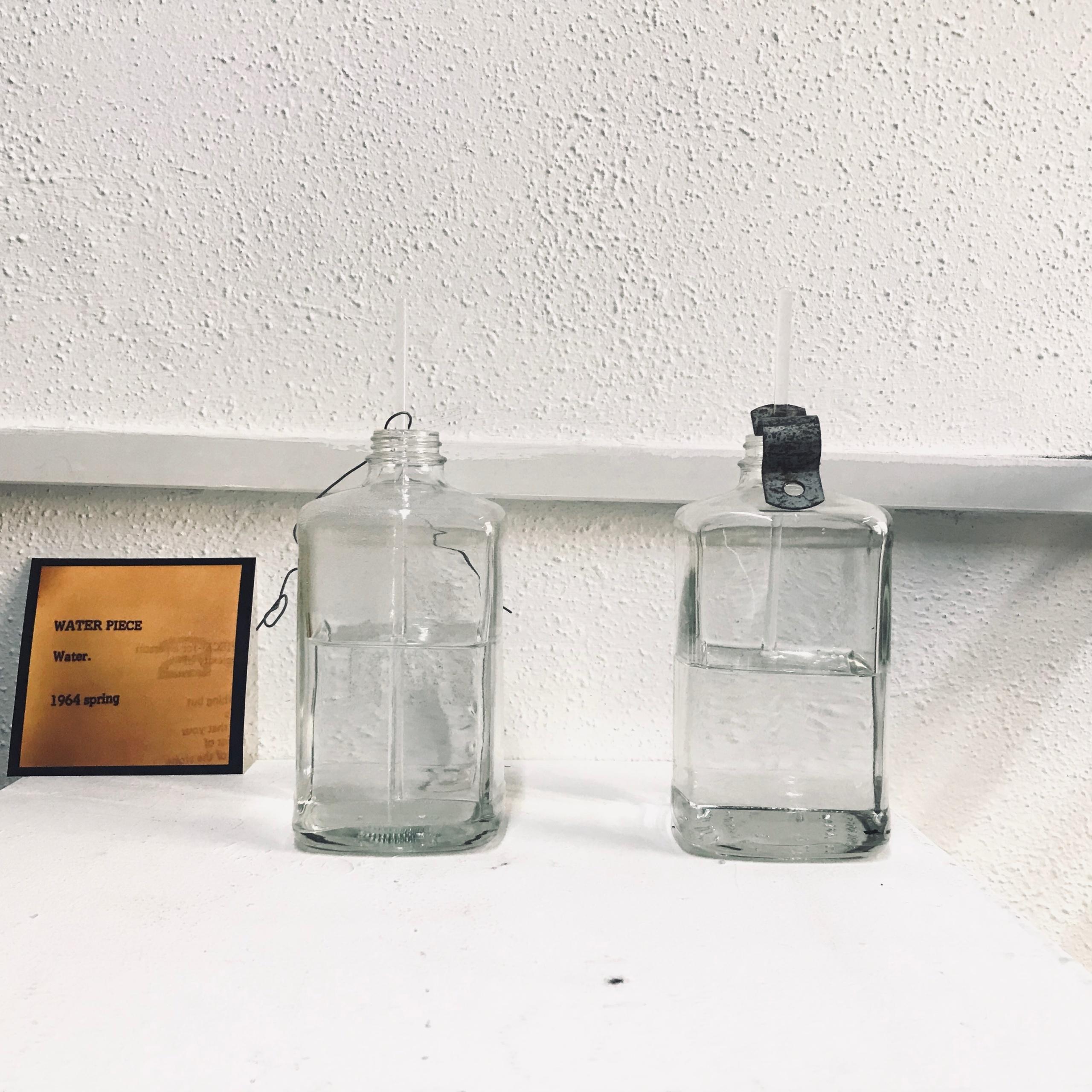 Yoko Ono's Grapefruit – a realisation of 'water piece' (1964) @ HCMF 2019, TemporaryContemporary, Huddersfield